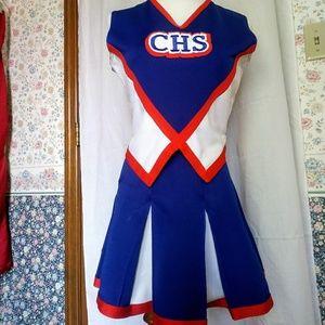 Halloween Costume Real Cheerleading Uniform Vintag